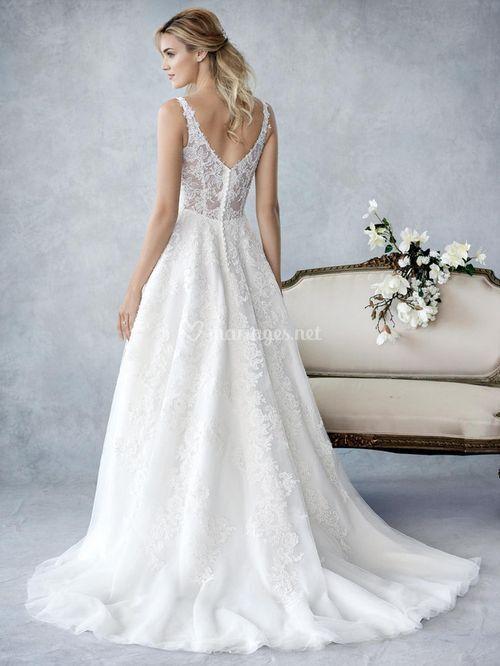 Robes de mari e sur ella rosa by kenneth winston be429 b for Prix de robe de mariage kenneth winston