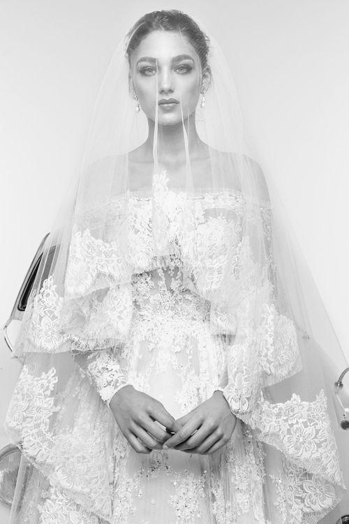 Rafaelle with veil, Zuhair Murad