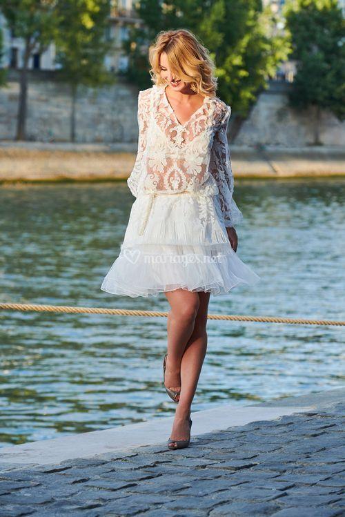 tunique arabesque / japinoca, LK PARIS Couture