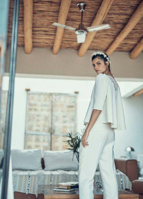 Top Smet & Pantalon Blier, Laure de Sagazan