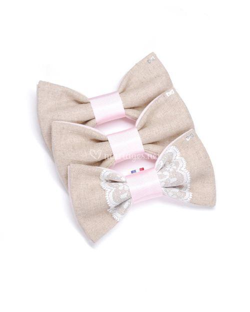 Dentelle - Lin et rose pastel, Agathe Vous Gâte