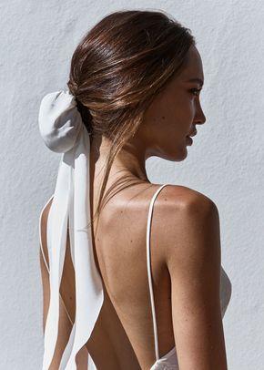 silk hair bun, Grace Loves Lace