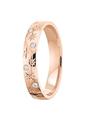 alliance joyce diamant or rose, OR DU MONDE