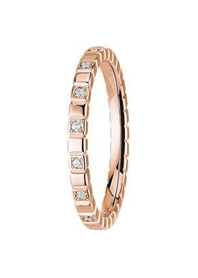 alliance nikki diamant 2 mm or rose, OR DU MONDE