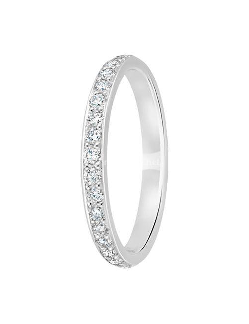 alliance suki diamant 2,5 mm or blanc, OR DU MONDE