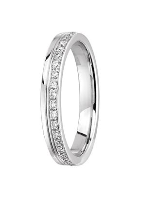 alliance together forever diamant or blanc, OR DU MONDE