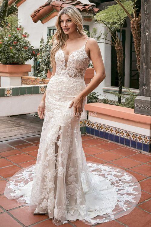 Raquel, Beloved By Casablanca Bridal