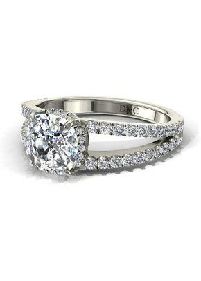1 diamant recco coussin, Diamants Et Carats