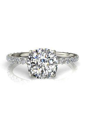 4 valentine coussin, Diamants Et Carats