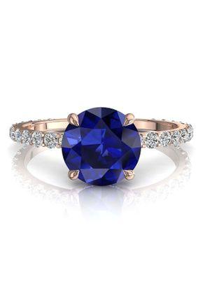 6 valentine saphir, Diamants Et Carats