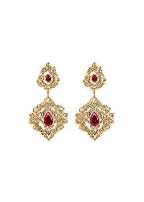 Melinda Ruby earrings, Stephanie Browne