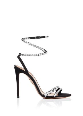 So Vera Sandal 105 black, Aquazzura