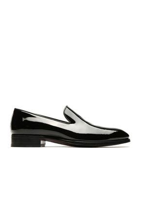 Black Wholecut Loafers, Brioni