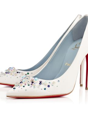 Candidate Crepe Satin, Christian Louboutin