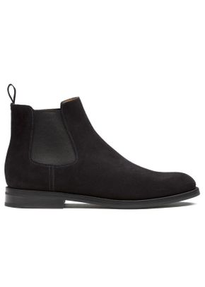 Monmouth Wg suede black, Church's