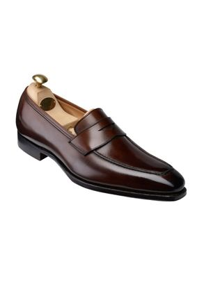 BURY Dark Brown Antique Calf, Crockett & Jones