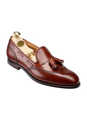 Lichfield CHESTNUT BURNISHED CALF, Crockett & Jones