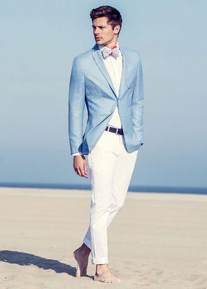 veste bleu ciel, Jean de Sey