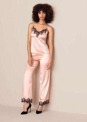 Amelea Camisole Pink Black, Agent Provocateur
