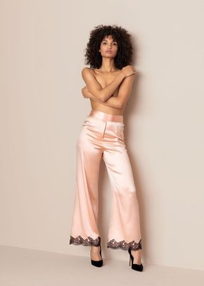 Amelea Pyjama Bottom PinkBlack, 439