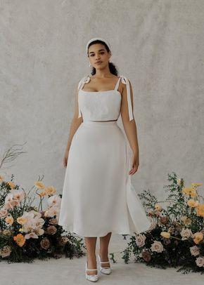 Odette Crop Top & Varlese Skirt, 991