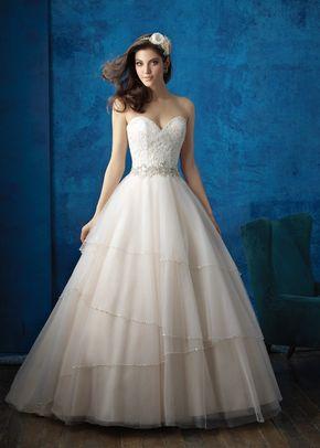 9351, Allure Bridals