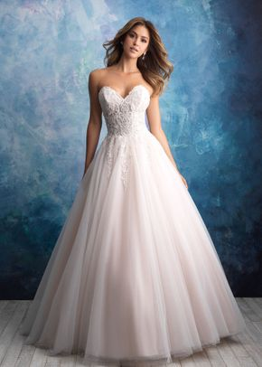 9565, Allure Bridals