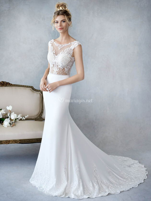 Robes de mari e sur ella rosa by kenneth winston be423 for Prix de robe de mariage kenneth winston