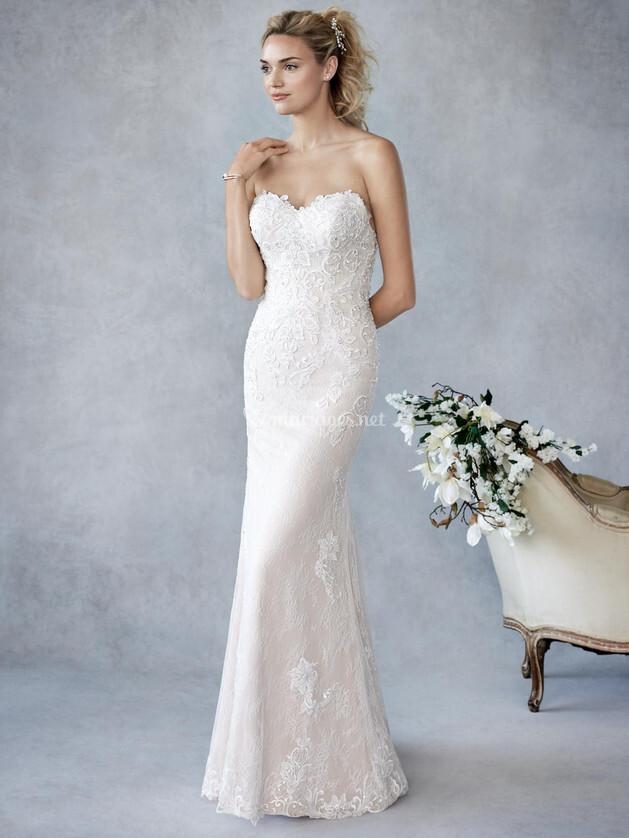 Robes de mari e sur ella rosa by kenneth winston be428 for Prix de robe de mariage kenneth winston