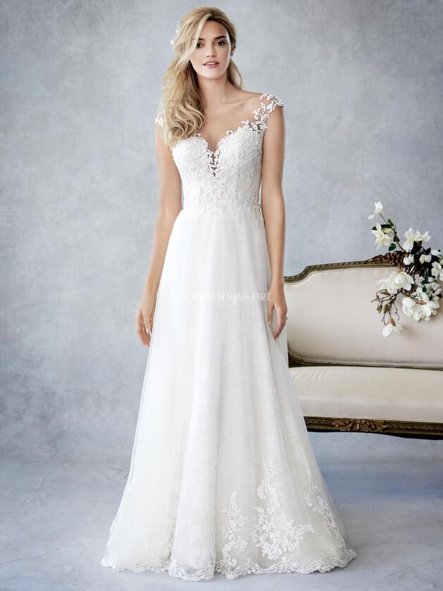 Robes de mari e sur ella rosa by kenneth winston be435 for Prix de robe de mariage kenneth winston