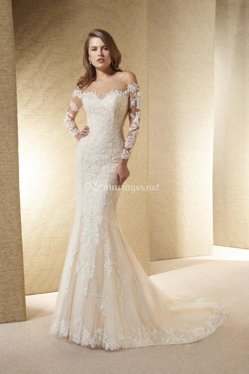 ea0546f506b Robes de mariée de Empire du mariage - 2017 - Mariages.net