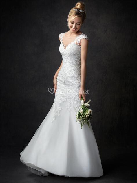 Robes de mari e sur gallery by kenneth winston ga2308 for Prix de robe de mariage kenneth winston