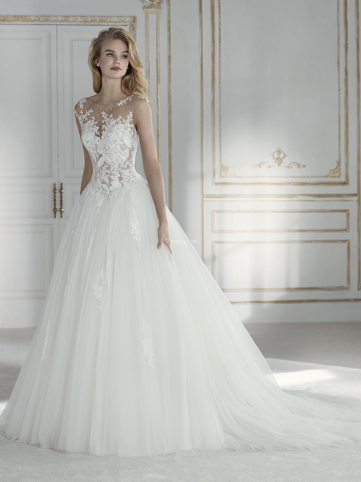 Robes de mari e de la sposa - Robe de mariee transparente ...