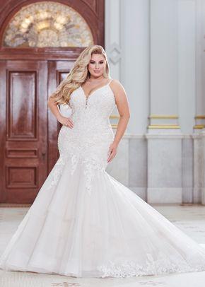 220265w, Mon Cheri Bridals