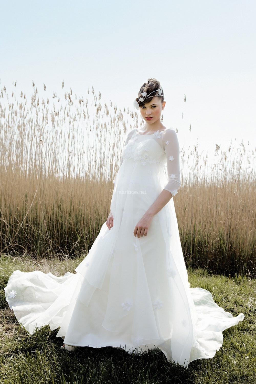 Bohème - Flower de Bohème - Robes de mariée - Pronuptia - Mariages ...