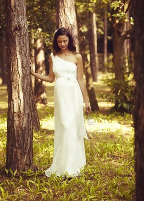 Gia Lace Gown Ivory, Tiffany Rose