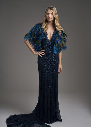 Short Huxley Cape / Gatsby Dress, 965