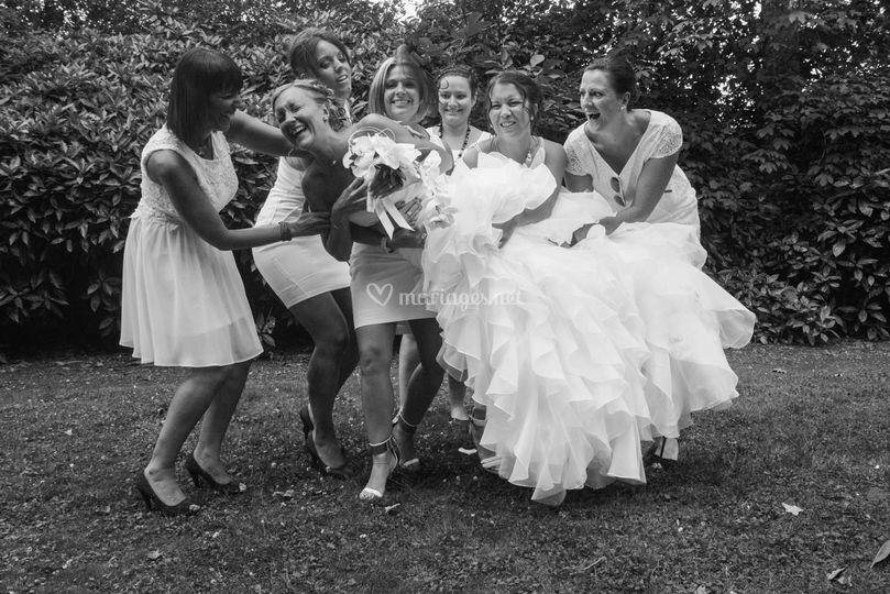 Les copines de la mariée