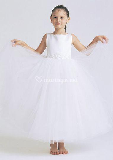 Robe de petite fille d'honneur