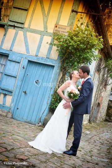 Le bisou des mariés