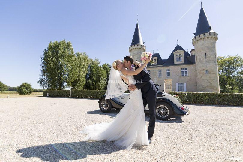 Mariage au château d'Agassac