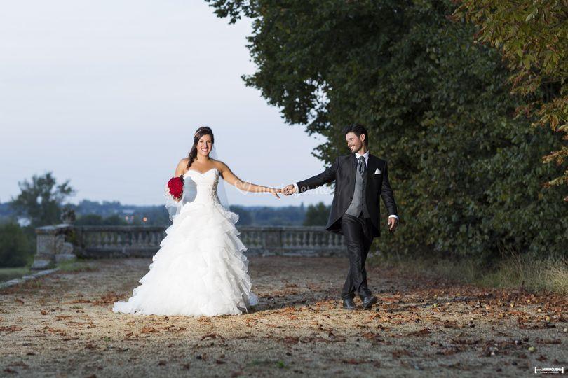 mariage au chateau du taillan sur sbastien huruguen - Chateau Du Taillan Mariage