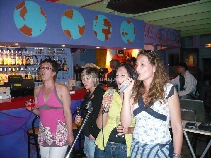 Ambiance karaoké