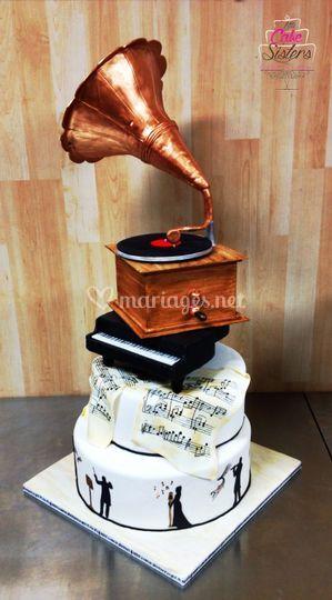 Wedding cake musique classique