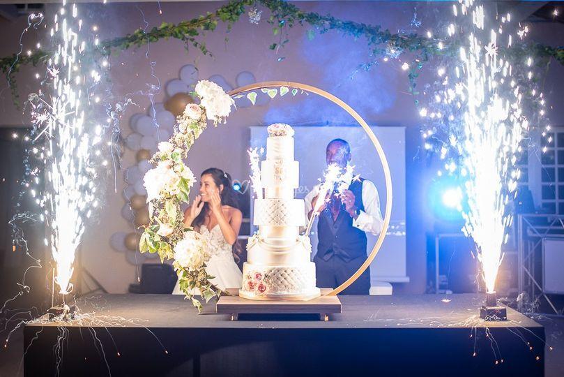 Wedding cake destructuré