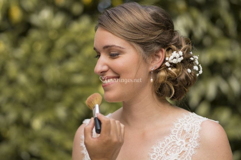 Coiffure/makeup by Nicky