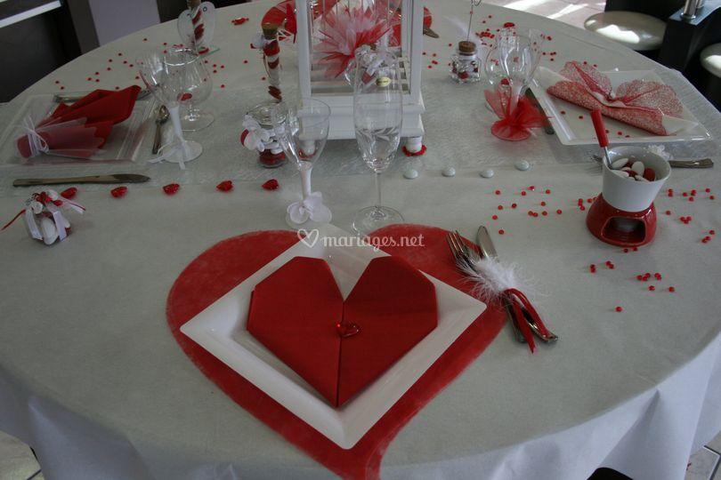 Idée décoration table