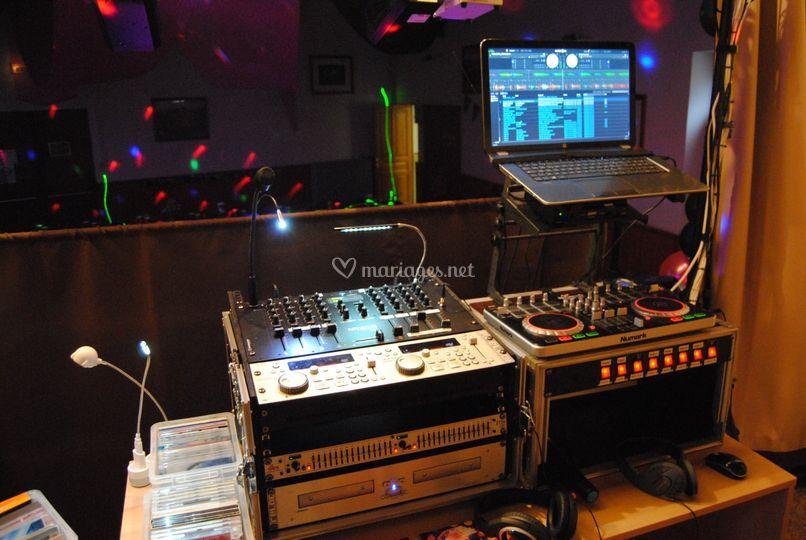 Vue côté DJ