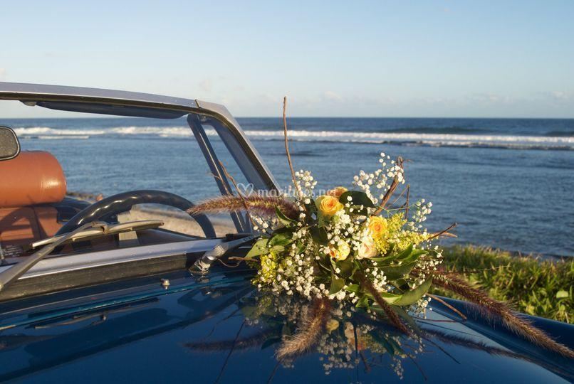 Bouquet de mariée rustique