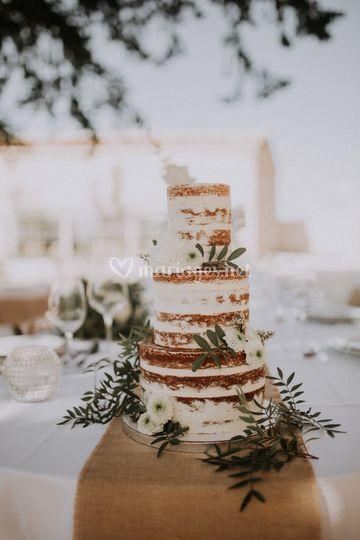 Naked Cake Floral